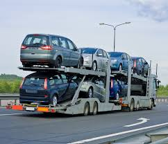 Car Transportation, Car Truck Trailer   Chainimage