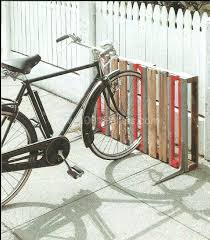 Full Image For 14 Ways Of Reusing Old Wooden Pallets As Bike Racks O Pallet Ideas