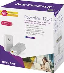 Bedroom Boom Mp3 by Netgear Powerline Network Adapter White Plp1200100pas Best Buy