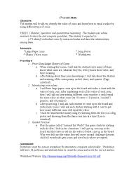 Front Desk Resume Skills by 1st Grade Math Lesson Plan Penny United States Coin Nickel