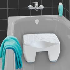 holz duschbank badezimmer sitz hocker 42 28 43cm rty by