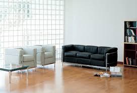 canape le corbusier cassina fauteuil lc2 de le corbusier jeanneret
