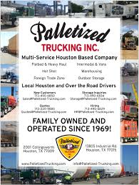 We Are The Most Diverse Trucking Company In Houston! / Palletized ... Logistics Companies Distribution Performance Team Bulk Liquid Transportation Houston Pulido Transport Barnes Services Texas Trucking Company Dee King We Strive For Exllence Websites Get More Clients Drivers Top Mcallen 10 Minneapolis Fueloyal Heritage Dicated Services Just 7 Percent Of Truck Drivers Are Women How Can Trucking Refrigerated In Florida Climb On Expected Demand Harvey Cleanup Dallas Best Image Truck Kusaboshicom