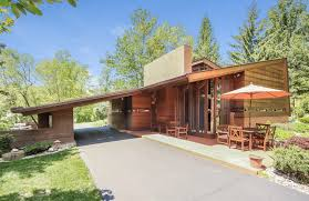 100 Frank Lloyd Wright Jr Little Known Home In Michigan Lists For 12m