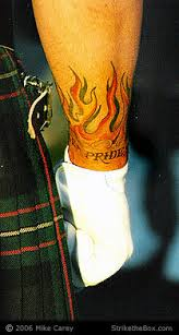 Irish And Scottish Firefighter Tattoos From Webstarts Shared By Nyfirestore