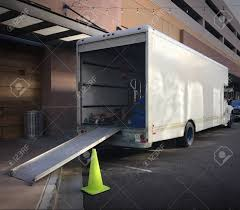 100 Truck Ramp Moving Down Ready To Load Stock Photo Picture And