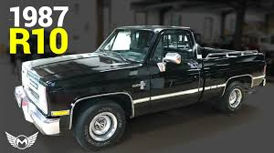 Chevy R10 Pickup - Miles Through Time Automotive Museum Clean Cut Custom 1987 Chevy C10 Busted Knuckles Truckin Magazine Chevrolet Pressroom United States Images Pickup 34 Ton 4x4 22 Inch Rims Silverado Ton Fuel Injection Truck Lastminute Decisions Chevy C10 Silverado Youtube Tci Eeering 631987 Truck Suspension Torque Arm K5 Blazer Trucks Pinterest Concept Ford F250 Joe L Lmc Life