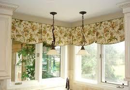 kitchen curtain ideas diy beige striped fabric windows blinds grey