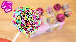 cakepops selber machen einfaches grundrezept für wunderschöne kuchen am stiel lecker