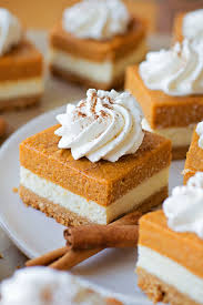Pumpkin Cake Mix Bars by Pumpkin Cheesecake Bars Lil U0027 Luna