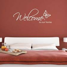 willkommen serie home decor wand aufkleber englisch gedicht sprüche tapete schmetterling wand aufkleber zeichnung zimmer schlafzimmer kunst poster