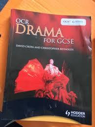 OCR Drama For GCSE By David Cross Christopher Reynolds Paul Cherry Paperback 2009