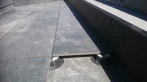 porcelain pavers raised deck paving raised deck