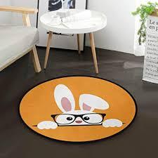 de ostern kaninchen hase mit brille runde