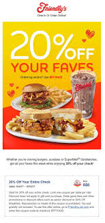 Friendly's Coupon Code Grab Promo Code Today Free Online Outback Steakhouse Coupons Picklemans Coupon Myfitteds Friendlys Restaurant Things To Park Bark And Fly Orlando Longwood Gardens Home Hf 20 Percent Off Epriserentacar New Zealand Riverjet Eastwood Richmonde Contact Lens Canada 1up Colctibles Stein Mart Coupons Printable 5 Off Purchase At The Tab At Restaurants