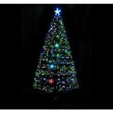 Fiber Optic Christmas Trees The Range by Fiber Optic Christmas Tree 6 Ft Artificial Holiday Decoration Star
