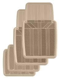 Lund Rubber Floor Mats by Kraco 4 Pc Multi Season Rubber Floor Mat Set Krckw2504a