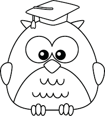 Owlette Coloring Page Of Owl Pages Cartoon Graduate Pj Masks Colouring