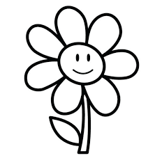 Full Image For Easy Printable Flower Coloring Pages Online Adults