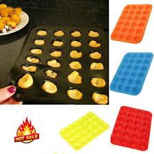 muffinform silikon backform für 24 minikuchen minitörtchen