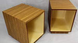 how to build modern end tables design plans jon peters art u0026 home