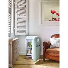 smeg retro stand kühlschrank minibar fab5rpg5 pastellgrün