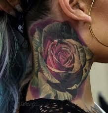 Portrait Neck Tattoo Ideas For Men And Women
