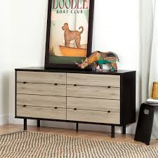 Shoal Creek Dresser Oiled Oak by Sauder Harvey Park 6 Drawer Dresser Hayneedle