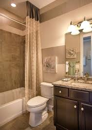 Shower Curtain Ideas For Small Bathrooms Bath Bathroom Remodel Tile Bathrooms Remodel Brown