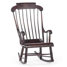 Boston Rocker   Cowan's Auction House: The Midwest's Most ... Cherry Wood Antique Rocker With Inlay Collectors Weekly Help Me Safely Disassemble A Rocking Chair Fniture Dit Early 19th Century Decorated Boston Rocker This Is Depop An Federal Style Faux Bamboo Antique Rocking Chair Stock Photos 19thc Original Black Painted And Stenciled Fruit Vintage Childs Bostonstyle The Great Toward The Truth About American Rockers Trader Antiques Atlas