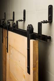 The Bypass Sliding Barn Door Hardware Is Efficient In Tight Spaces ... Door Design Tips Tricks Great Sliding Barn For Classic Home How To Make Hdware Amazing Glass Doors Remodelaholic 35 Diy Rolling Ideas Your Own Wood Track Diy Masonite 42 In X 84 Zbar Knotty Alder Interior Architectural Accents For The Best 25 Door Hdware Ideas On Pinterest Brushed Steel Kit With Arrow Rails Lowes