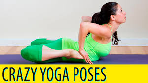 Crazy Yoga Poses Dont Even Try These At Home