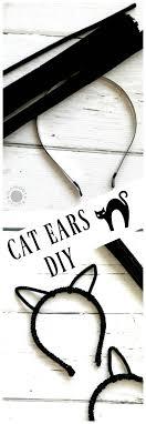 how to make cat ears cat ears diy momdot