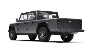 Bollinger Unveils Electric B2 Pickup Truck, Claims Production Will ... 2019 Jeep Pickup Jt Strips Some Camouflage Reveals Lights And Wrangler Truck Scrambler Toronto Missauga The Upcoming Finally Has A Name Autoguidecom News Caught In Motion On Highway Long Illtrious History Of Trucks Top Speed Protype First Sight 2018 Is Coming In Maxim Hitting Showrooms April 20 Gladiator Vs Pickup Trucks From Chevy Ford Nissan 1978 J20 Off Road Truck Renderings Best Look At New La Auto Show Is Unveiled As New Suv