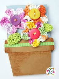 I Chose To Add Flower Pots The Inside For People Write On Because There Were Three Of Us Giving Gift Had Bright 3x5 Index Cards And Cut