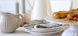 birnentarte tatin mit kräuterkaramell