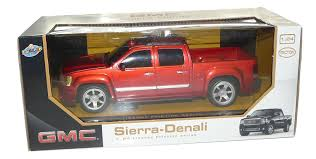 Amazon.com: GMC Sierra Denali Pickup Truck 1:24 Friction Series Red ...