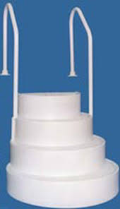 Above Ground Pool Ladder Deck Attachment by Wedding Cake Swimming Pool Steps Offer Description Steps For