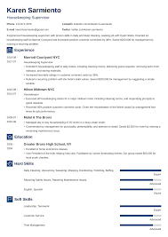 Housekeeping Resume: Sample & Complete Guide [+20 Examples] Resume Skills For Customer Service Resume Carmens Score Machine Operator Sample Writing Tips Genius Soft And Hard Uerstanding The Difference How To Write A Perfect Internship Examples Included 17 Best That Will Win More Jobs 20 For Rumes Companion Welder Example Livecareer Job Coach Description Ats Ways Career Soft Skills Hard Collection De Cv Vs Which Are Most Important