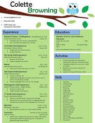 resume description of preschool resume exle cv 1 teaching cv template