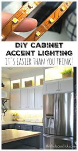 diy and lower cabinet lighting thrifty decor