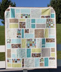 Easy Large Block Quilt Patterns Quilts Find This Pin And More On For Scale Prints Big Beginners