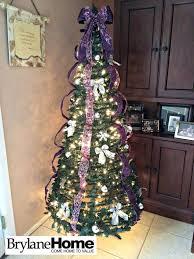 Slimline Christmas Tree Asda by Fully Decorated Christmas Tree Rainforest Islands Ferry