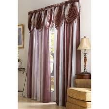 Boscovs Blackout Curtains by Ombre Waterfall Valance 50x36 Boscov U0027s