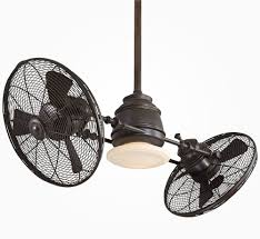 Casablanca Ceiling Fans Uk by Twin Turbofan Heads Ceiling Fan