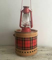 Antique Kerosene Lanterns Value by Vintage Red Railroad Camping Barn Lantern Winged Wheel 500