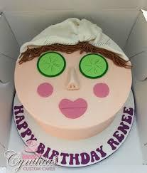 Spa Themed Cake