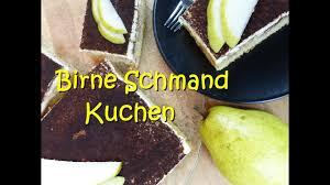 birnen schmand kuchen rührkuchen rezept blechkuchen rührteig herbst must outtakes