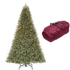 Home Accents Holiday 9 Ft Stamford Pine Quick Set Artificial Christmas Tree With1050 Clear