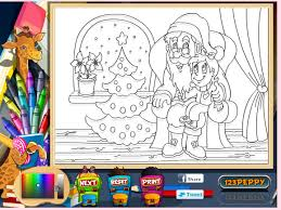 Santa Coloring Book Games